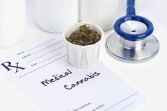 Marijuana médica fotografía de archivo libre de regalías