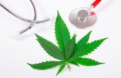 Marijuana médica Fotos de archivo libres de regalías
