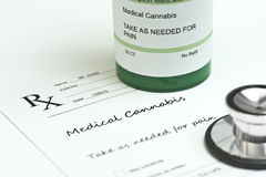 Marijuana médicale Photos stock