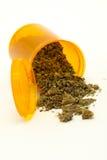 Marijuana medicinale Fotografia Stock