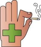 Marijuana medicinale Fotografia Stock Libera da Diritti