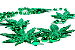 Marijuana Necklace Stock Images
