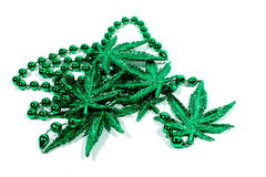 Marijuana Necklace Royalty Free Stock Image