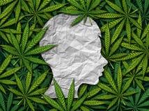 Marijuana och barn stock illustrationer
