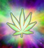 Marijuana Psychedelic Royalty Free Stock Photos