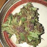 Marijuana roxa Imagens de Stock Royalty Free