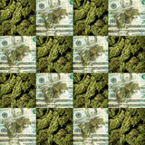 Marijuana RX Royalty Free Stock Photography