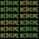 Marijuana Medical Pharmacy Rx Bottle from Dispensa Royalty Free Stock Image