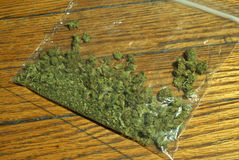 Marijuana RX Royalty Free Stock Images