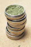 Marijuana, RX Prescription Bottle of Weed Royalty Free Stock Image