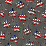 Marijuana in the USA Leaf Pattern Repeat Background Stock Image