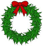 Marijuana Wreath Royalty Free Stock Image