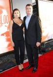 Marika Dominczyk and Scott Foley. HOLLYWOOD, CA - MAY 30, 2012: Marika Dominczyk and Scott Foley at the HBO's 'True Blood' season 5 premiere held at the ArcLight Stock Photos