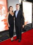 Marika Dominczyk and Scott Foley. HOLLYWOOD, CA - MAY 30, 2012: Marika Dominczyk and Scott Foley at the HBO's 'True Blood' season 5 premiere held at the ArcLight Royalty Free Stock Image
