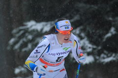 Marika Sundin - esqui do corta-mato Fotos de Stock