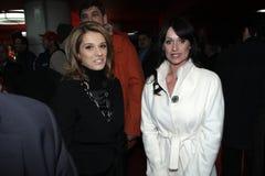 Marilena Hagi and Nadia Comaneci Royalty Free Stock Photography