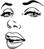 marilyn royalty-vrije illustratie