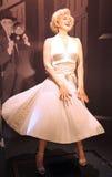 Marilyn Monroe alla l$signora Tussaud Immagini Stock