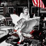 Marilyn Monroe fotos de stock royalty free