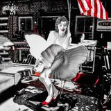 Marilyn Monroe royalty-vrije stock foto's