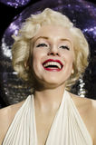 Marilyn monroe. In the famous wax museum Madame tussauds london, england royalty free stock photography