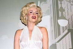 Marilyn Monroe, figura de cera, Amsterdão da senhora Tussaud imagem de stock