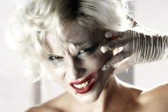 Marilyn Monroe 5. High key girl woman portrait Marilyn Monroe stock photography