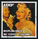 Marilyn Monroe royalty-vrije illustratie