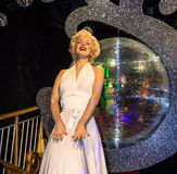 Marilyn Monroe in Madame Tussauds Wax museum in London. Marie Tussaud was born as Marie Grosholtz in 1761 Royalty Free Stock Photos