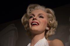 Marilyn Monroe no museu da senhora Tussauds fotografia de stock royalty free