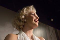Marilyn Monroe no museu da senhora Tussauds fotos de stock royalty free