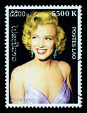 Marilyn Monroe Postage Stamp Stock Photo