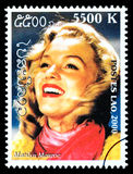 Marilyn Monroe Postage Stamp Stock Photography