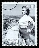 Marilyn Monroe Postage Stamp Stock Images