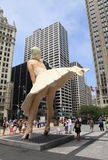 Marilyn Monroe Statue Royalty Free Stock Photos