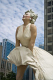Marilyn Monroe statue in Chicago Royalty Free Stock Photos