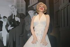 Marilyn Monroe - statue de cire Image libre de droits