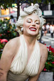 Marilyn Monroe Statue Stock Images