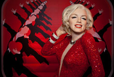 Marilyn Monroe Wax Figure. In Madame Tussauds Wax Museum - Vienna Royalty Free Stock Photos