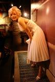 Marilyn Monroe Wax Figure Royaltyfria Foton