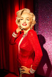 Marilyn Monroe wax figure at Madame Tussauds San Francisco. Wax figure of Marilyn Monroe posing at Madame Tussauds, San Francisco Royalty Free Stock Photography