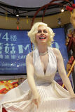 Marilyn monroe wax figure Royalty Free Stock Photography