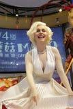 Marilyn monroe wax figure Royalty Free Stock Photography