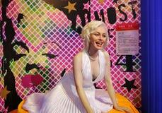 Marilyn Monroe. Wax figure of Marilyn Monroe in Waxworks Museum royalty free stock images