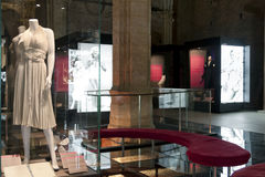 """Marilyn Monroe - The woman behind the myth. The exhibition """"Marilyn Monroe - The woman behind the myth,"""" running to September 19 at Palazzo Madama in Turin Stock Images"""