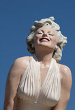 Marilyn viene a Palm Spring Fotografia Stock