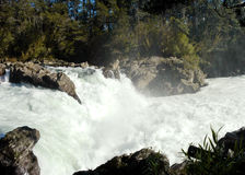 River with large flow. Stock Photos