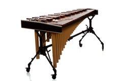 Marimba auf Weiß Stockfotos