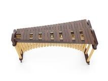 Marimba som isoleras på den vita tolkningen 3d Royaltyfria Bilder
