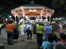 Marimba-Tanzen Stockbild